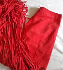 H&M suknja sa resama 34
