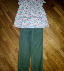 Pantalone i kosuljuca za uzrast od 7