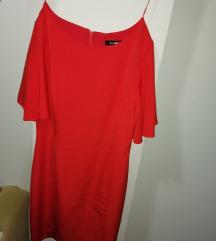 Crvena svečana haljina 44