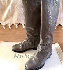 %%%MaxMara kožne lakovane čizme Original-