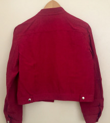 Hugo Boss kratka bordo jaknica