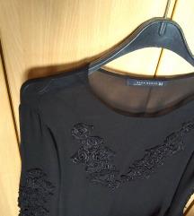 ZARA tilasta bluza sa vezom
