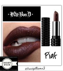KAT VON D Nudes mini Piaf lipstick ORIG/NOV