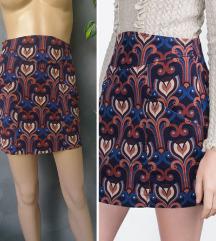 Zara duboka mini suknja