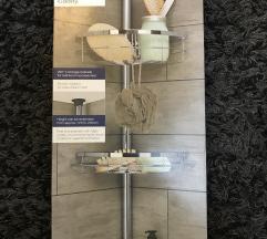 Teleskopska polica za kupatilo