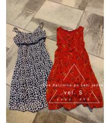 Dve letnje haljine S,M