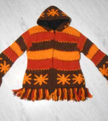 Predivna jakna/džemper 100%vuna S/M %%%