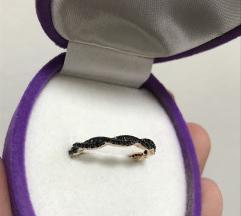 Maya milano pozlacen prsten