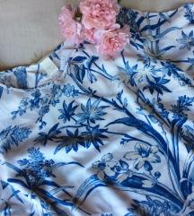 H&M bluza plavo bela