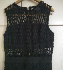 Crna seksi haljina