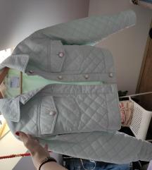 Bershka plava jakna