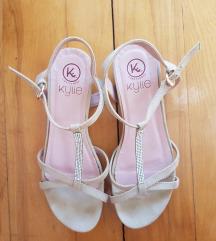 Slatke sandale sa cirkonima