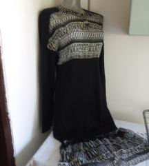 Vunena haljina sa slovima M
