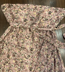 Dugacka cvetna haljina