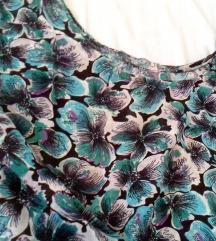 Floral vintage majica - široka