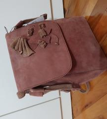 Kožni ranac torba
