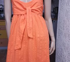 Italijanska haljina divne boje od pamucnog platna