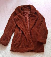 Teddy coat/bundica - novo - kraca varjanta