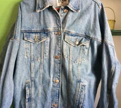 ZARA Oversized tekses jakna