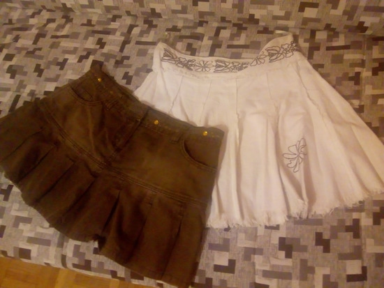 2 suknje  za 550,00 din.