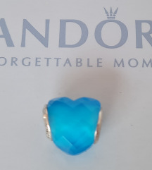 PANDORA Plavo srce 💙