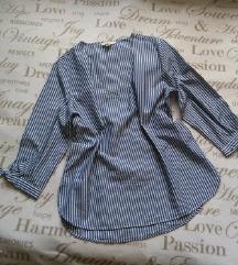 H&M pamucna lagana bluza na pruge