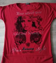 Crvena majica Britney S, M, L