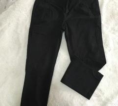 Crne Mango poslovne ženske pantalone