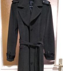 Sniženje Elegantni sivi kaput Katrin