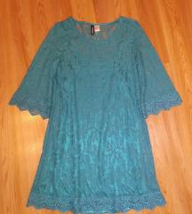 Tirkizna H&M haljina