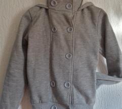 Siva jaknica/deblja trenerka