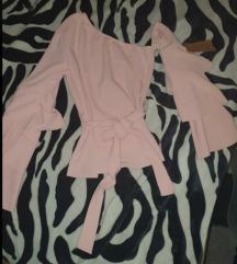 Bebi roze bluza