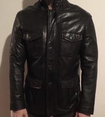 Lapel kozna jakna