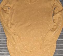 Zuta bluza sa sljokicama