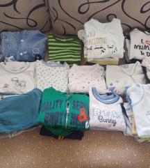 Paket bebi odeća vel 56-68