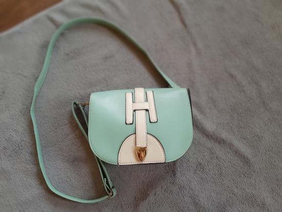 Akcija 490!Like Hermes mint torbica nova