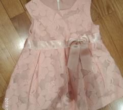 Haljina za bebe svecana 74-80