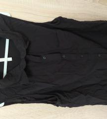 Crna letnja košulja, Bershka