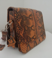 Nova kožna torba / zmijska koža