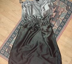 Svilena ombre haljina