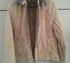 Zimska somot drap jakna