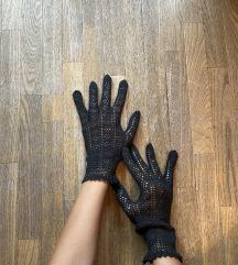 Vintage pletene rukavice