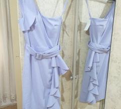 Lila haljina sa etiketom