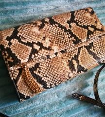 Aldo snake print torbica + poklon SNIZENA