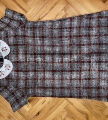 Zara zimska mini haljina