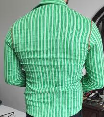Muska zelena kosilja XL