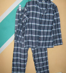 Pamučna flanelska pidžama vel 152