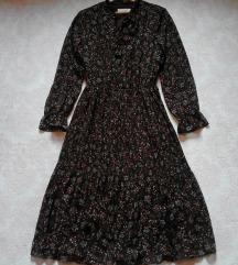 🖤  PURE Collection Chiffon Midi Dress 🖤