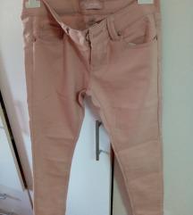 Puder roze pantalone M VEL.