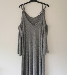 RezzPULL&BEAR off shoulder haljina kao NOVO